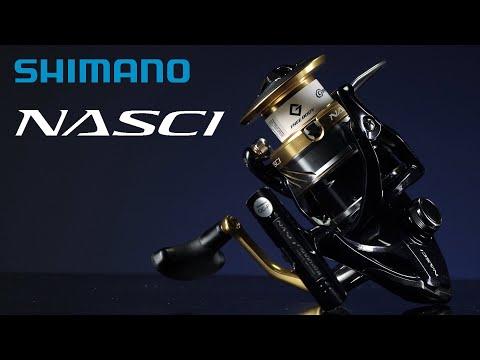 Катушка безынерционная SHIMANO NASCI 4000 FB фото №1