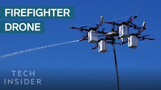 """(Video) """"Drones Assist Firefighters Extinguishing Fires"""""""