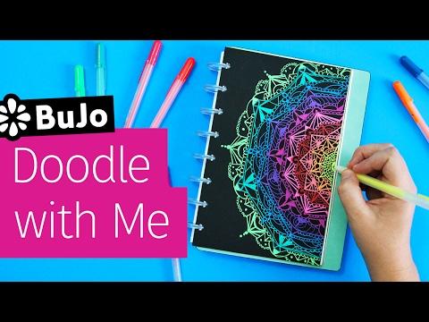 Bullet Journal Doodle with Me: Mandala | Sea Lemon