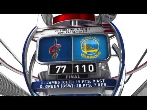 Cleveland Cavaliers vs Golden State Warriors - June 5, 2016