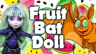 I'M BACK AND MAKING A FRUIT BAT DOLL! / Monster High Doll Repaint by Poppen Atelier