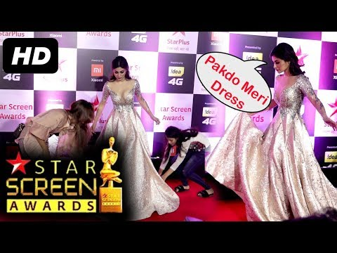 Mouni Roy At Star Screen Awards 2018 | Red Carpet