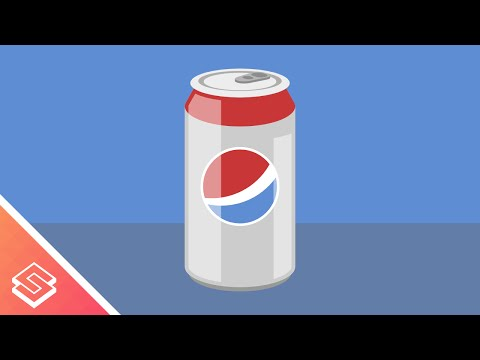Inkscape Tutorial: Vector Soda Can - Logos By Nick - Video