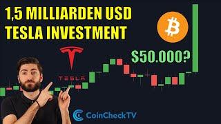 Erstes Tesla kaufte mit Bitcoin
