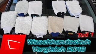 Waschhandschuhtest 2018 - Gifort, Marc Crouch, Glart, Cleanbob, Meguiars MEX3002  im Test