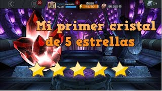 MI PRIMER CRISTAL DE 5 ESTRELLAS Y MÁS | Abriendo Cristales Marvel Batalla de Superhéroes