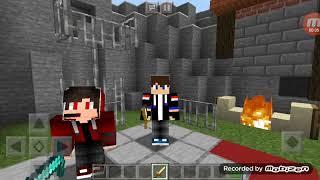 Первое Видео по Майнкрафту с моим другом Ромой. -  (Видео приветствие!)