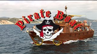 preview picture of video 'Pirate Boat'