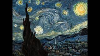 """Ночь, луна, звёзды..., """"Звездная ночь"""" Ван Гога. Интерактивная анимация."""