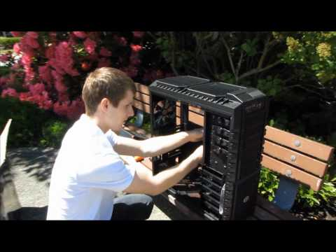 Cooler Master Haf-X XL-ATX Gaming Computer Case Unboxing & First Look