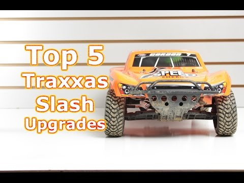 Top 5 Traxxas Slash First Upgrades - What they are and why you need them