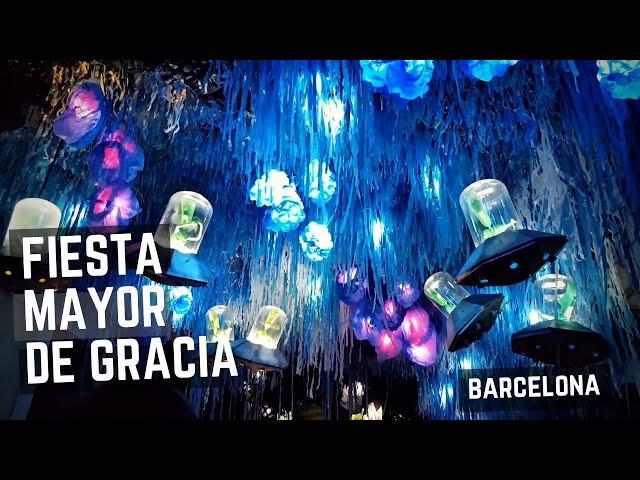 Fiestas de Gracia 2018, Barcelona