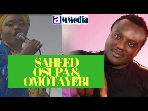 Aminat Omotayebi Vs King Dr Saheed Osupa on stage