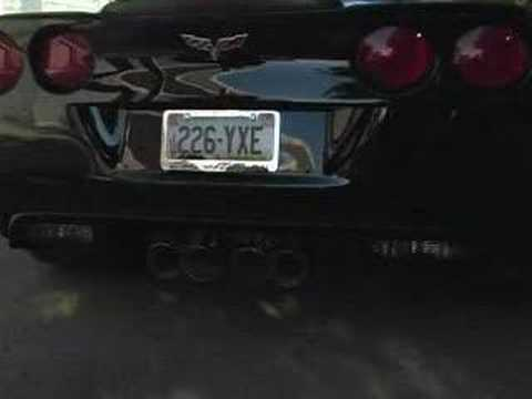 Chevy C6 Corvette Z06 06-13 Fusion Exhaust – Billy Boat Exhaust