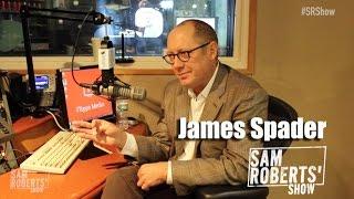 James Spader Interview- Blacklist, Ultron, The Office, Going Broke, etc - #SRShow