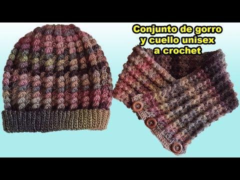 gorro slouchy a crochet para mujer y hombre - tutorial - tejido - ganchillo  - Видео сообщество af69dcb7224