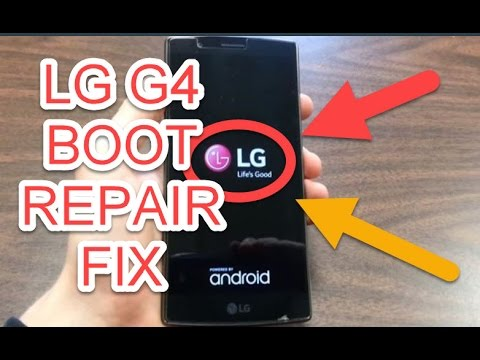 REPAIR BOOTLOOP LG G4 EASY FIX