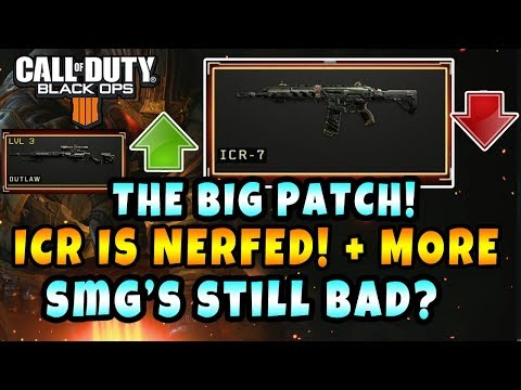 The GOD GUN GOT NERFED in COD BO4! (ICR-7 HUGE NERF) (1 04