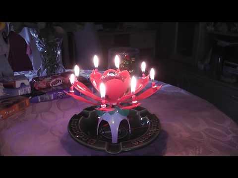 Geburtstagskerze zum Geburtstag