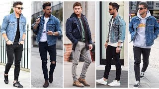 Most Stylish DENIM JACKETS Outfits For MEN | How To Style DENIM JACKETS | Mens Fashion & Style 2020