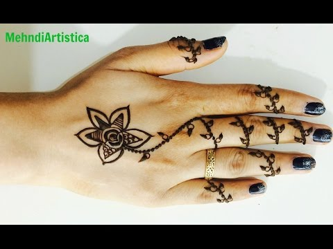 Best Ornamental Unique Arabic Henna Mehndi Stylish Mehendi Designs