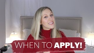 WHEN TO START APPLYING FOR YOUR FIRST NURSING JOB! // Alyssa All Day