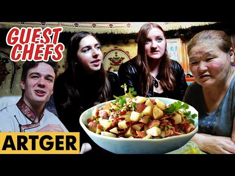 Mongolian Herders Try German Potato Salad For The First Time | Guest Chefs