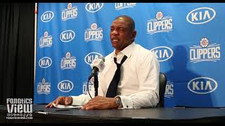 """Doc Rivers On Clippers Trade For Ivica Zubac """"We We're Shocked To Get Him, Sky's The Limit"""""""