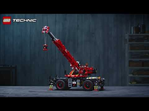 LEGO Geländegängiger Kranwagen (42082)