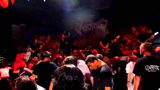 Aborted - Threading On Vermillion Deception (live at Le Ramier) - 08/08/2011