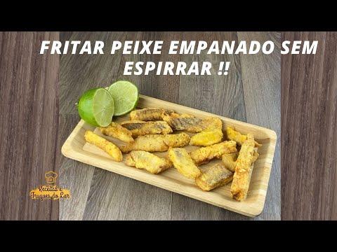 RECEITA DE COMO FRITAR PEIXE EMPANADO SEM ESPIRRAR !!