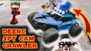 Deerc Spy Camera RC Car | DE36w Spy RC Truck | 720p Spy Cam Car | 1:16 Scale High Speed RC Car