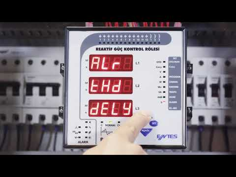RG3-15 CLS Power Factor Controller Settings To Disable All Steps In Case Of A Voltage Harmonics Al
