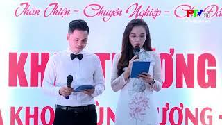 Khai trương phòng khám đa khoa Hùng Vương - Sơn Dương - PTV