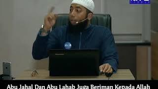 Abu Jahl Dan Abu Lahab Beriman Kepada Allah, Tapi Kenapa Allah Menyebut Mereka Menyembah Berhala?