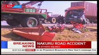 BREAKING: 30 die,18 injured in grisly road accident on the Eldoret - Nakuru highway