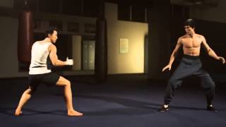 Bruce Lee vs Donnie Yen - Realismo gráfico incrível!