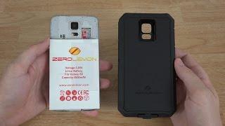 ZeroLemon Samsung Galaxy S5 8500mAh Extended Battery + Zeroshock Rugged Case + Screen Protector!