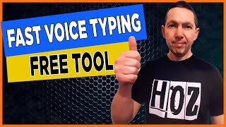 BEST Dictation Software - Voice Typing Google Docs 2020 (FREE!)
