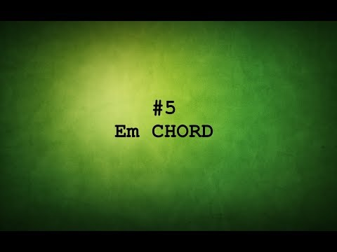 TAMIL GUITAR LESSONS-#5 E minor CHORD