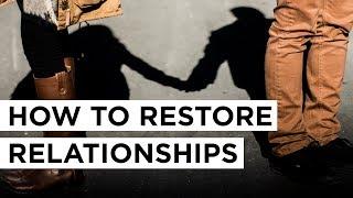 How to Restore Relationships   Joyce Meyer