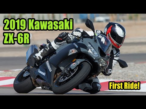 2019 Kawasaki ZX 6R Review – First Ride