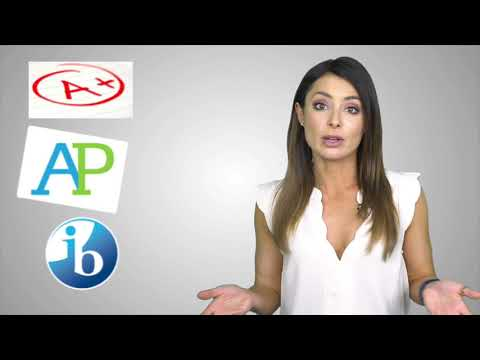 What's the difference between honors courses, AP classes, and International Baccalaureate classes?