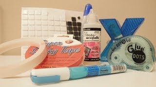 Materiales para Scrapbooking: Mis adhesivos favoritos
