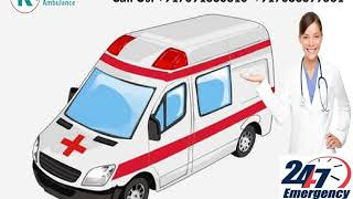 Hire Road Ambulance Service in Ranchi and Jamshedpur by King