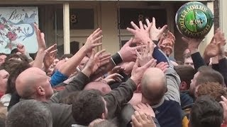 preview picture of video 'Ashbourne Shrovetide Football, Weds 5th Mar 2014. Pt 4 of 9'