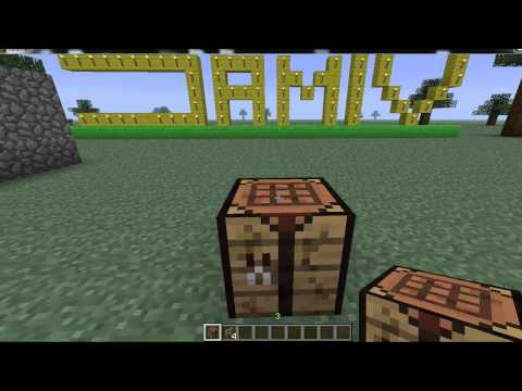 Cancelletto Minecraft : Come costruire una scala un cancelletto e una staccionata in minecraft