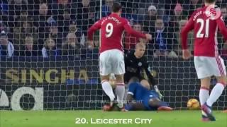Все Голы 28 2016/17 -  За Манчестер Юнайтед Златана Ибрагимовича