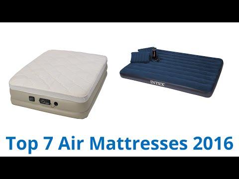 7 Best Air Mattresses 2016