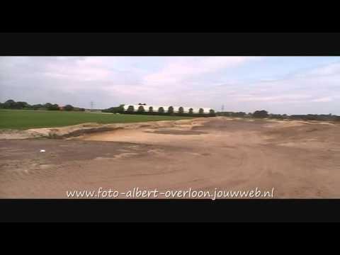 Aanleg golfbaan Overloon 28-05-2011